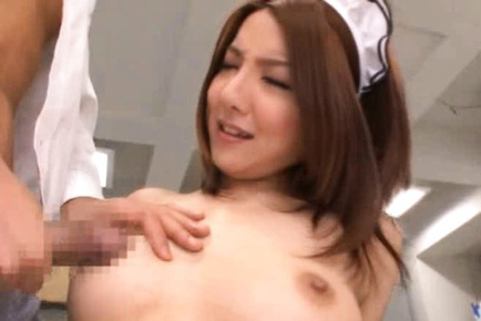 Japanese av model. Japanese AV Model and house keepers have heavy boobs aroused by men