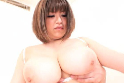 Marie momoka. Marie Momoka Asian has nipples licked and pushed inside huge breasts