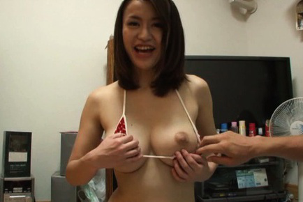 Kaede niiyama. Kaede Niiyama Asian has nipples of great breasts exposed and licked