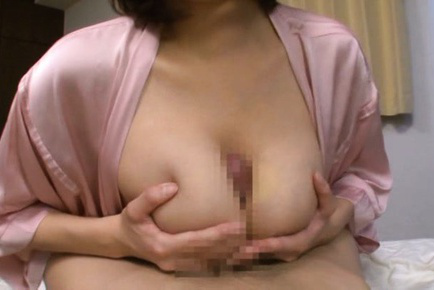 Mio takahashi. Mio Takahashi Asian rubs penis between huge cans