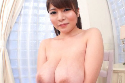 Kurumi kokoro. Kurumi Kokoro Asian has huge melons fondled and squeezed by hunk