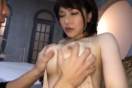 Japanese av model. Japanese AV Model has huge melons pressed