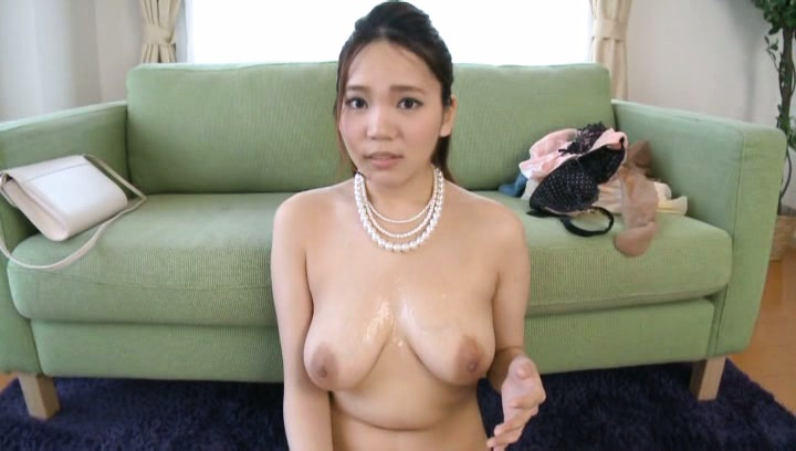 Yuna nanjyou. Yuna Nanjyou Asian rubs dong between her huge and wet knockers