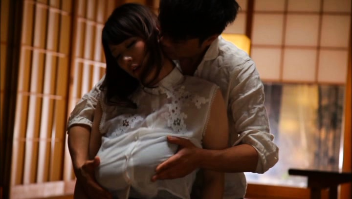 Mio sakuragi. Mio Sakuragi Asian has huge boobs touched over blouse and revealed